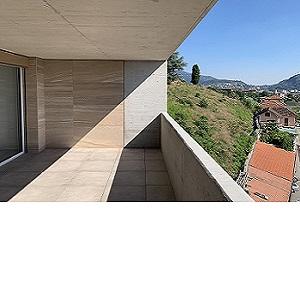 Affitto: moderno bello appartamento con terrazza coperta